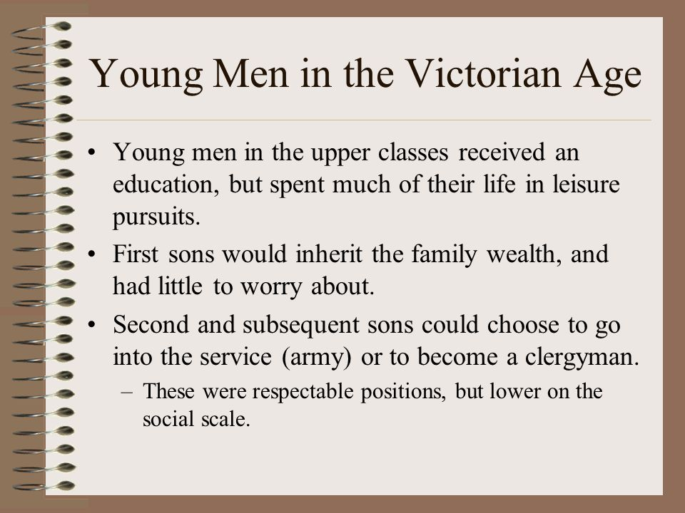 Victorian Society Victorian society was democratic, but featured many more restrictions than modern America.