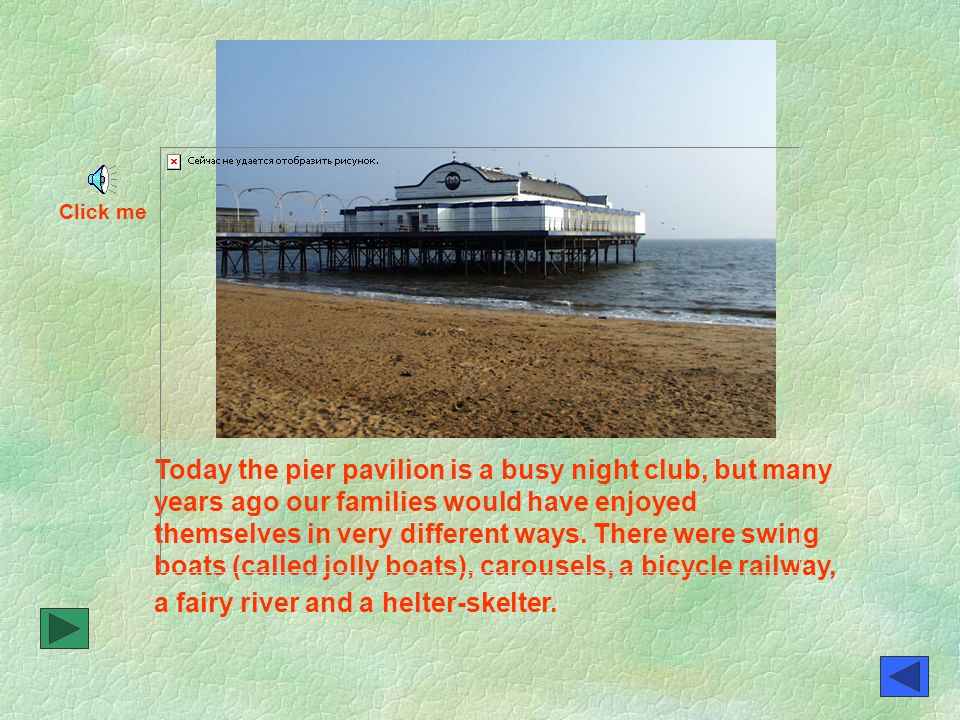In 1903 disaster struck the pier.