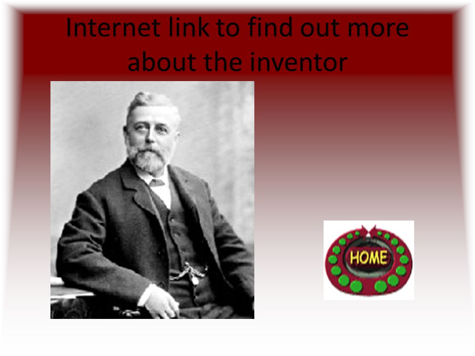 Internet link to find out more about the inventor