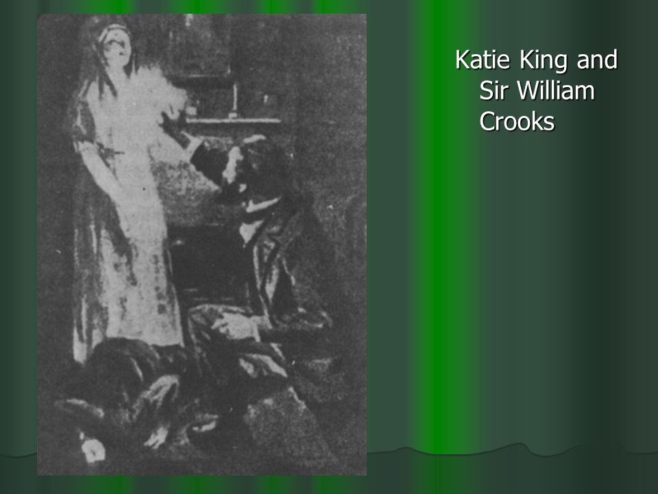 Katie King and Sir William Crooks