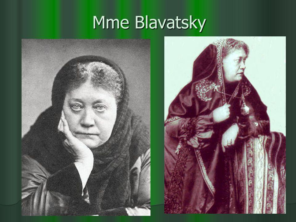 Mme Blavatsky