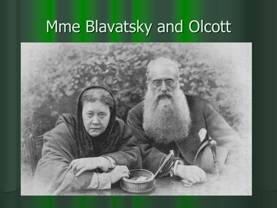Mme Blavatsky and Olcott