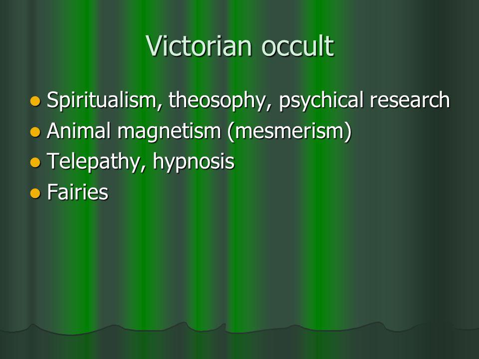 spiritualist séance