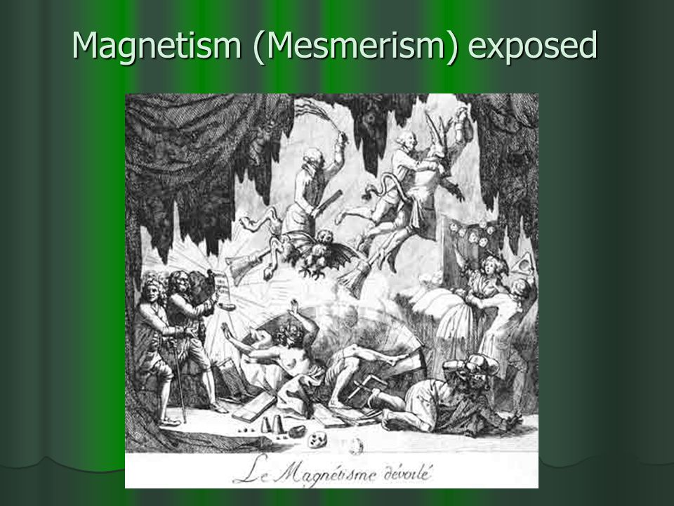 Magnetism (Mesmerism) exposed