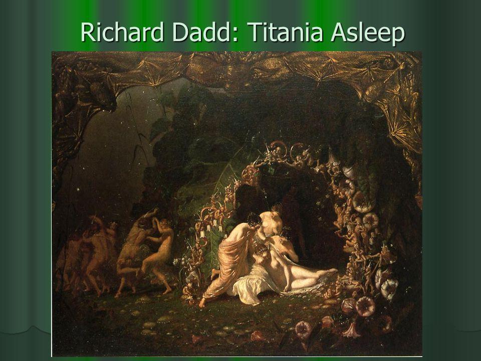 Richard Dadd: Titania Asleep