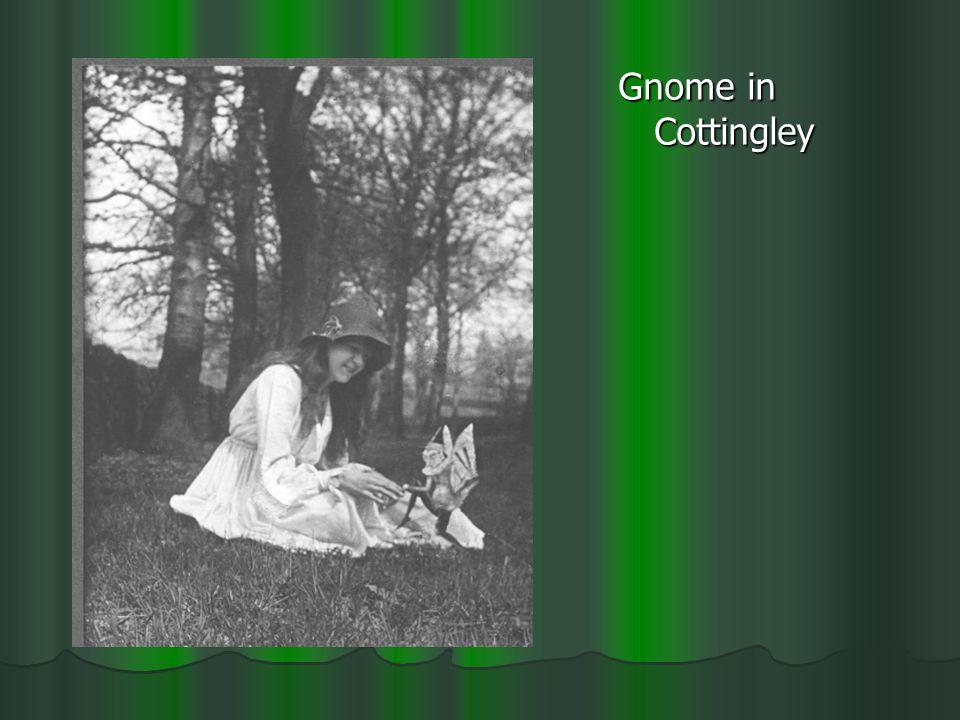 Gnome in Cottingley