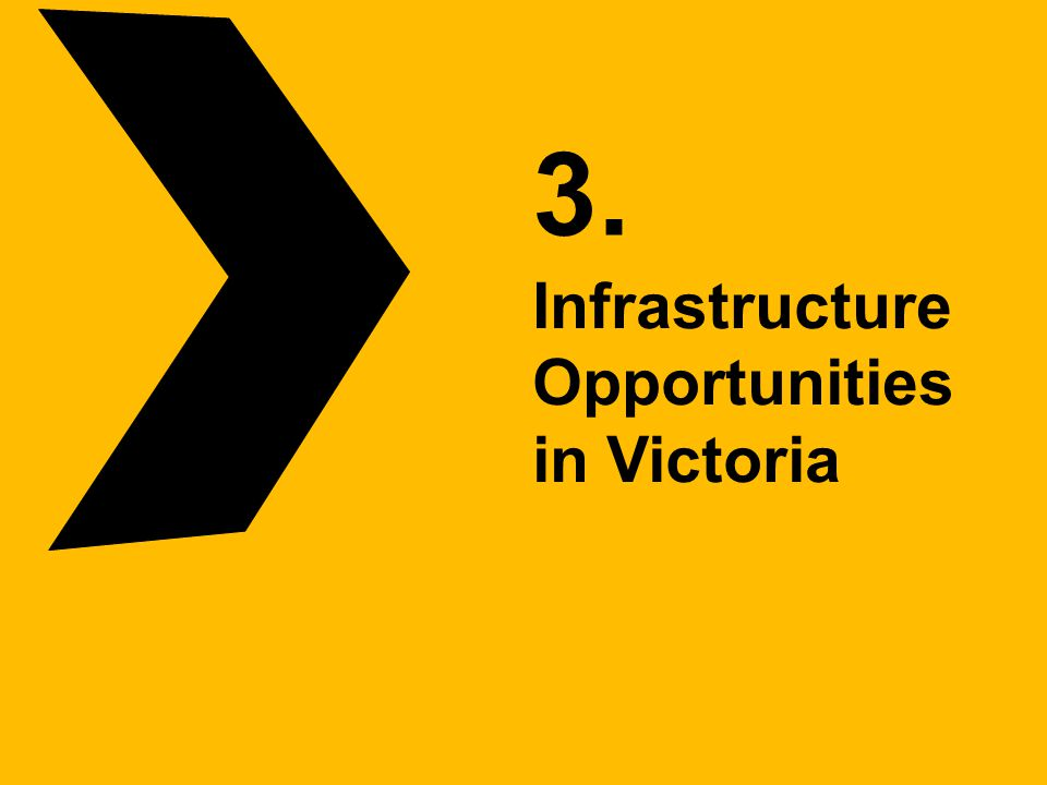 3. Infrastructure Opportunities in Victoria