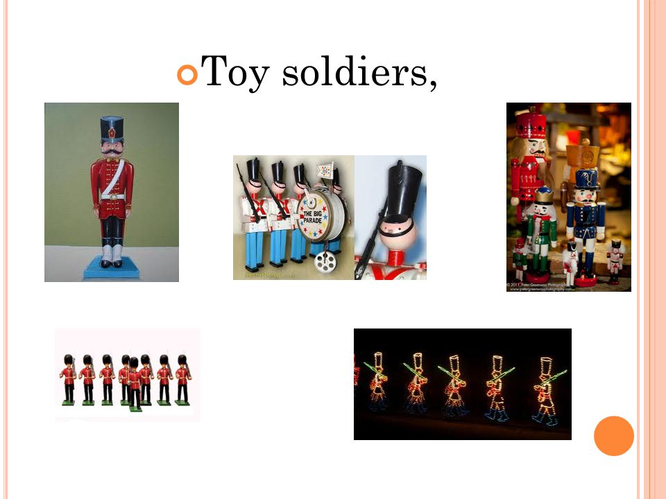 Toy soldiers,