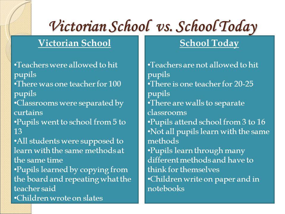 Victorian School vs.