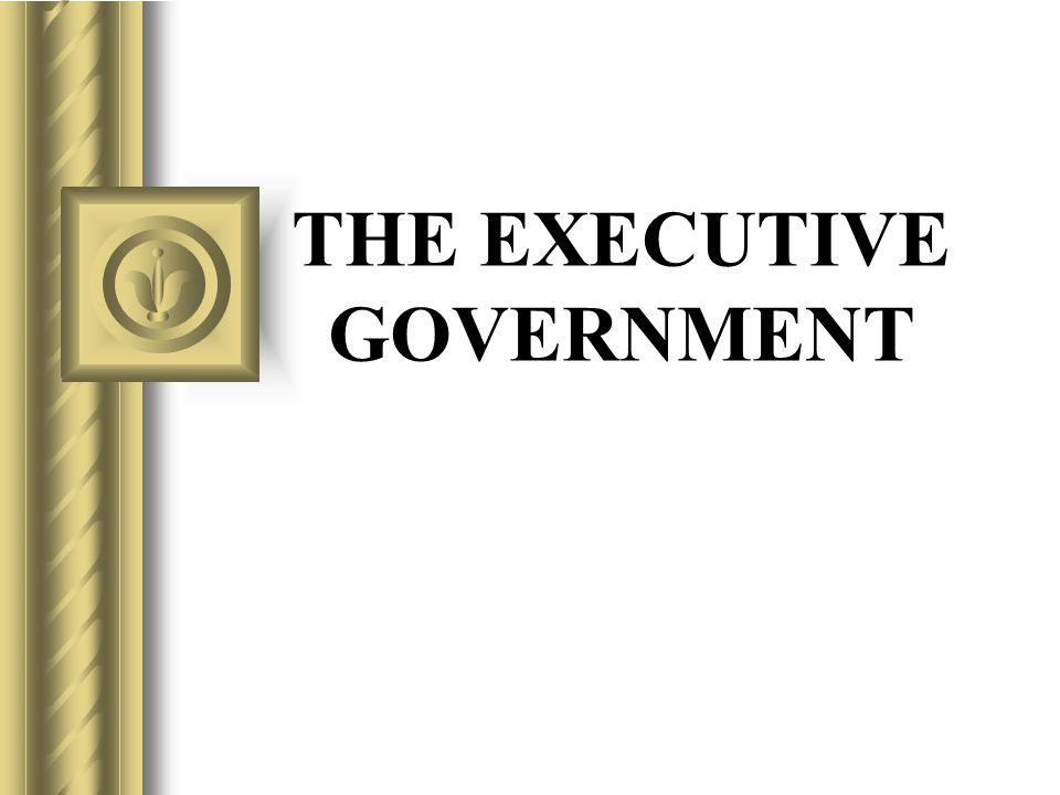 Issues Definition of executive power Limits on executive power Multiple sources of executive power Relationship of executive with other arms of government Doctrine of responsible government