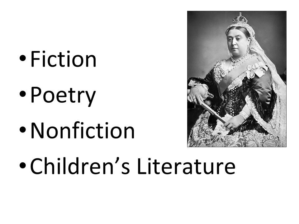 Fiction Poetry Nonfiction Children's Literature