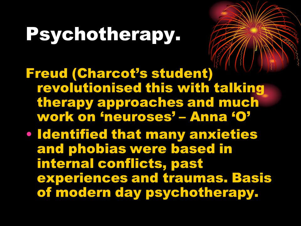 Psychotherapy.