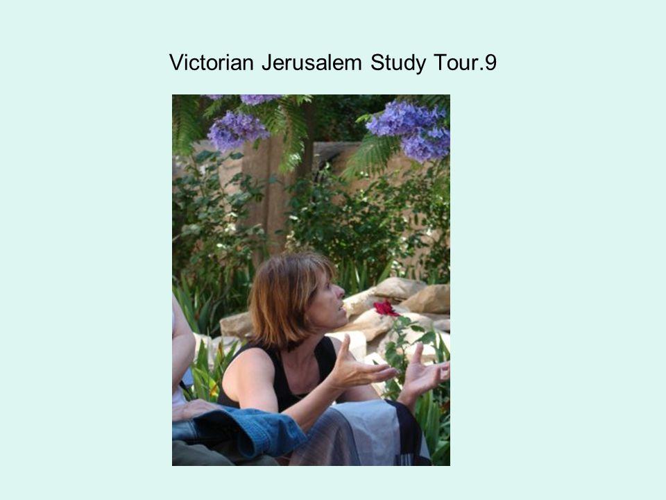 Victorian Jerusalem Study Tour.9