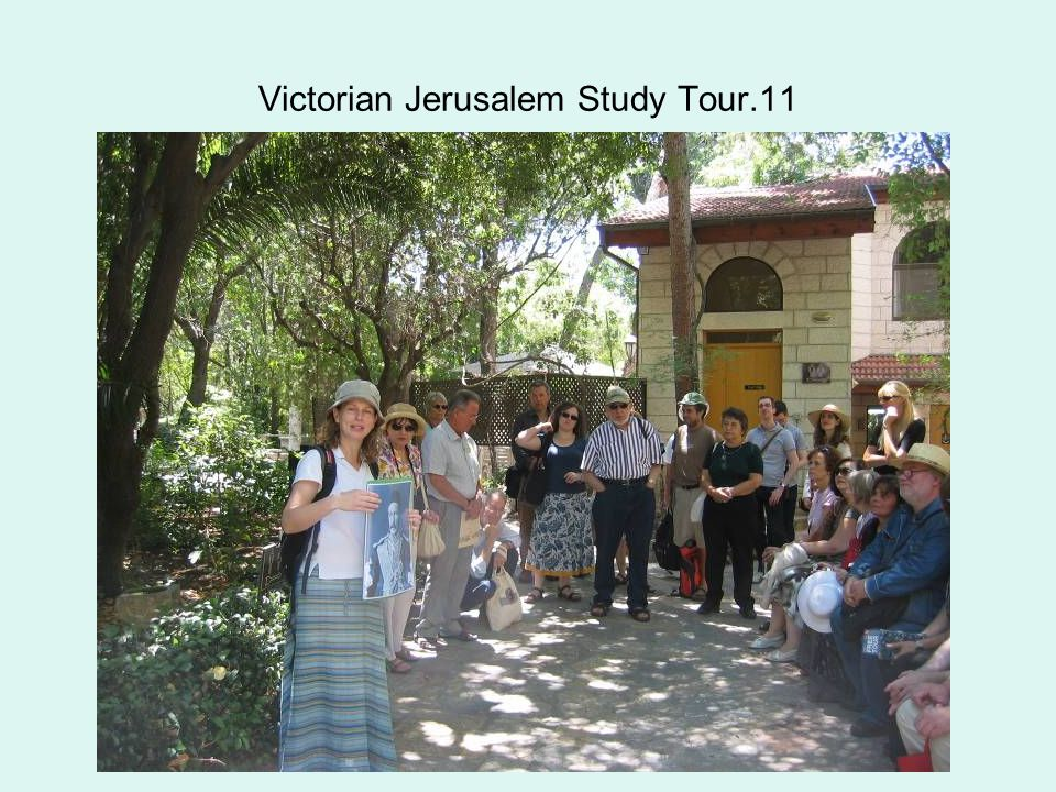 Victorian Jerusalem Study Tour.11