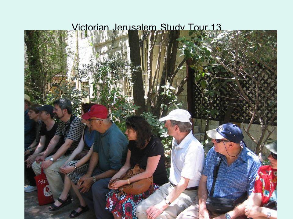 Victorian Jerusalem Study Tour.13