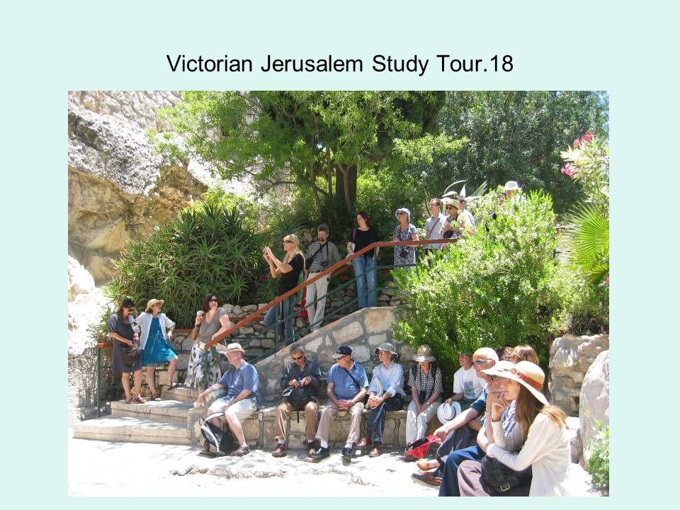 Victorian Jerusalem Study Tour.18