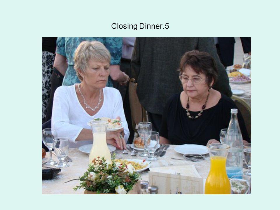 Closing Dinner.5