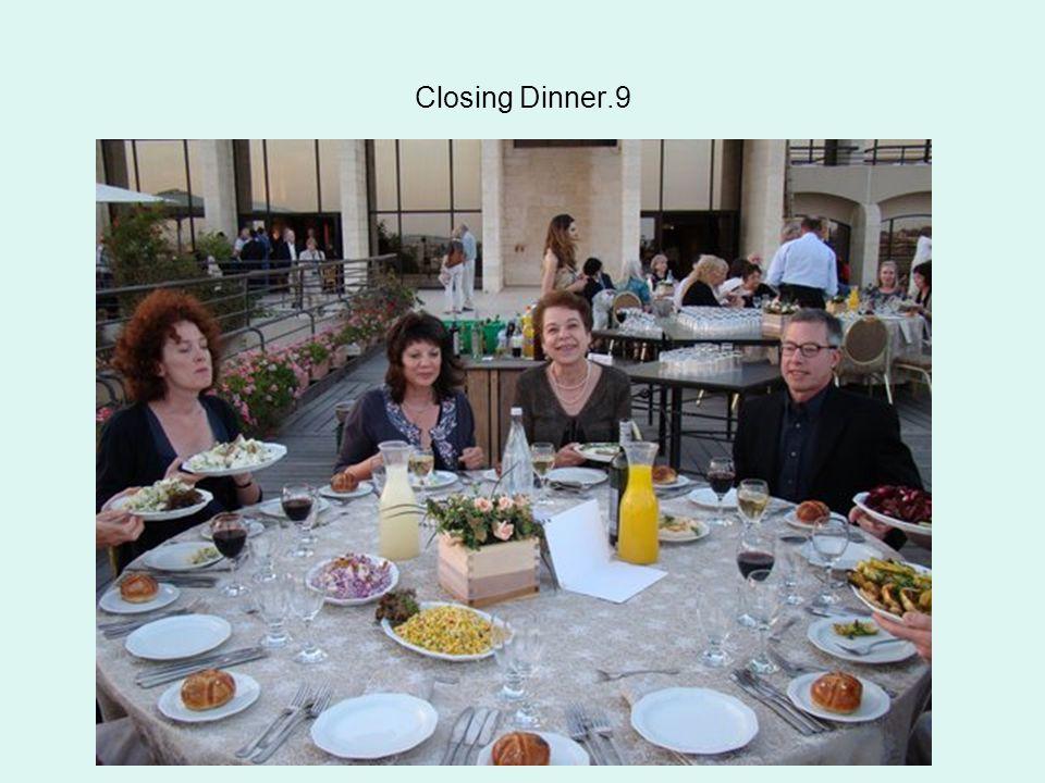 Closing Dinner.9