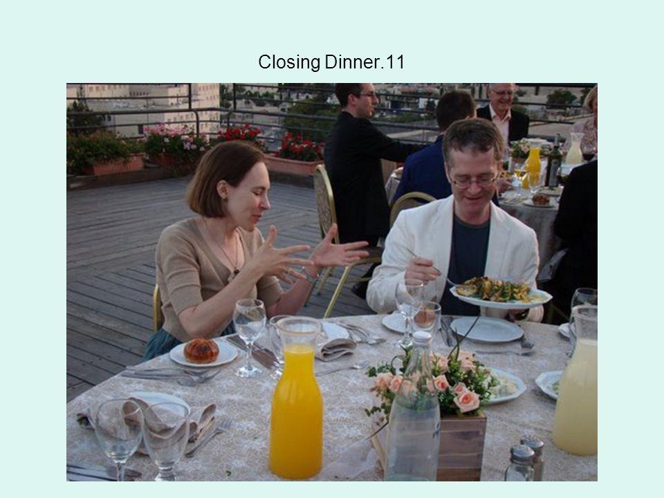 Closing Dinner.11