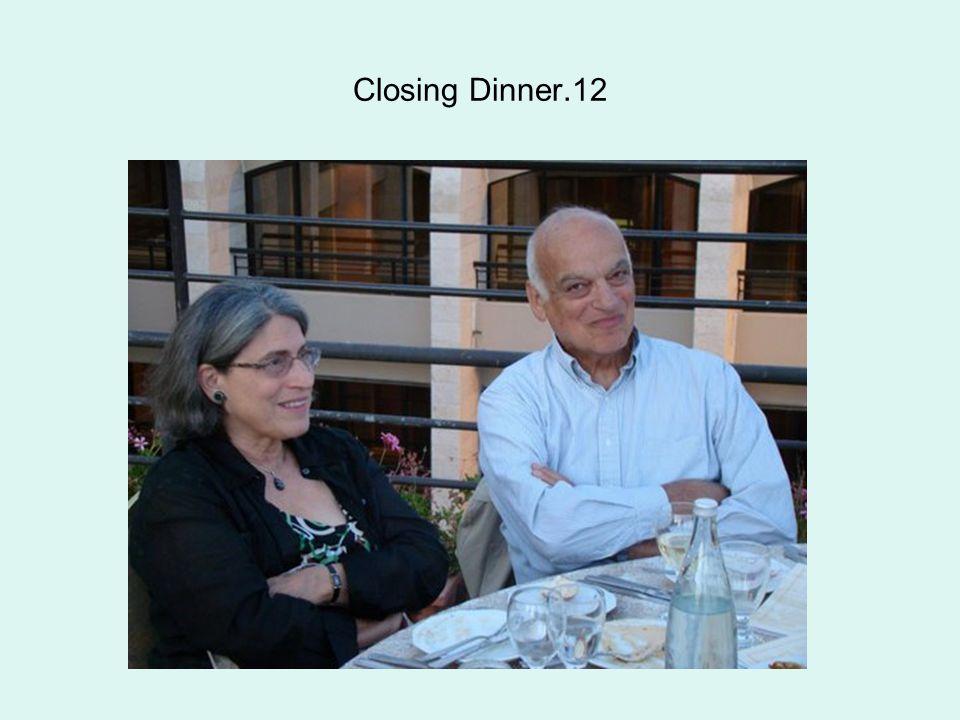 Closing Dinner.12