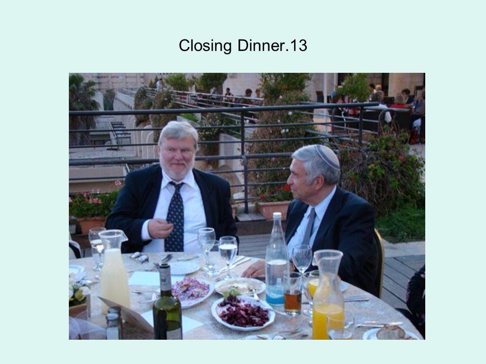 Closing Dinner.13