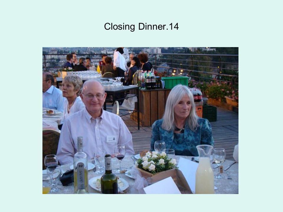Closing Dinner.14
