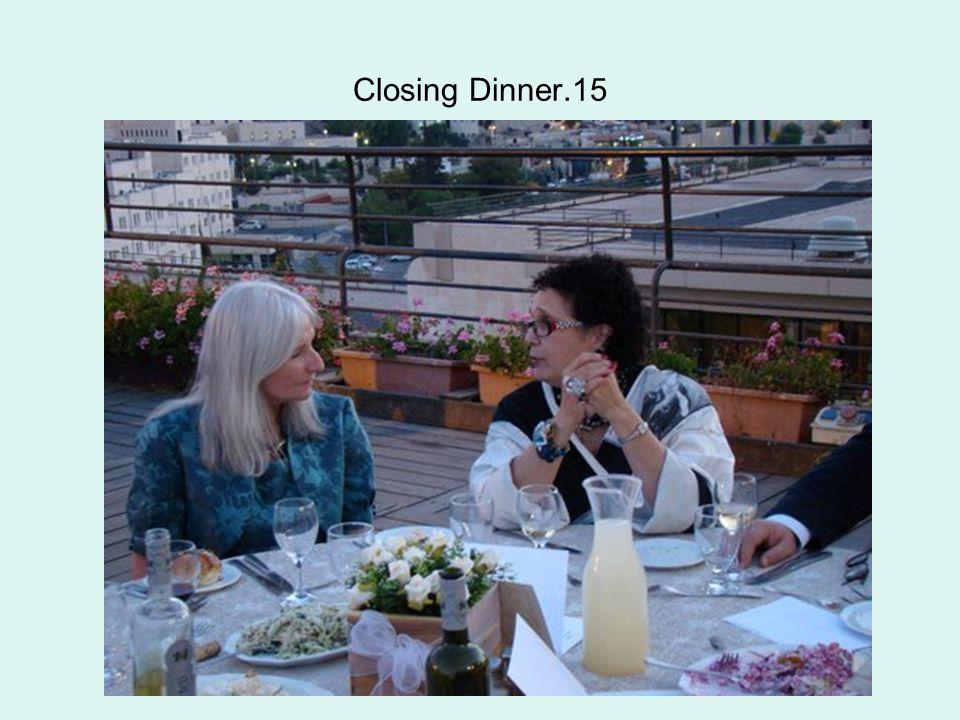 Closing Dinner.15