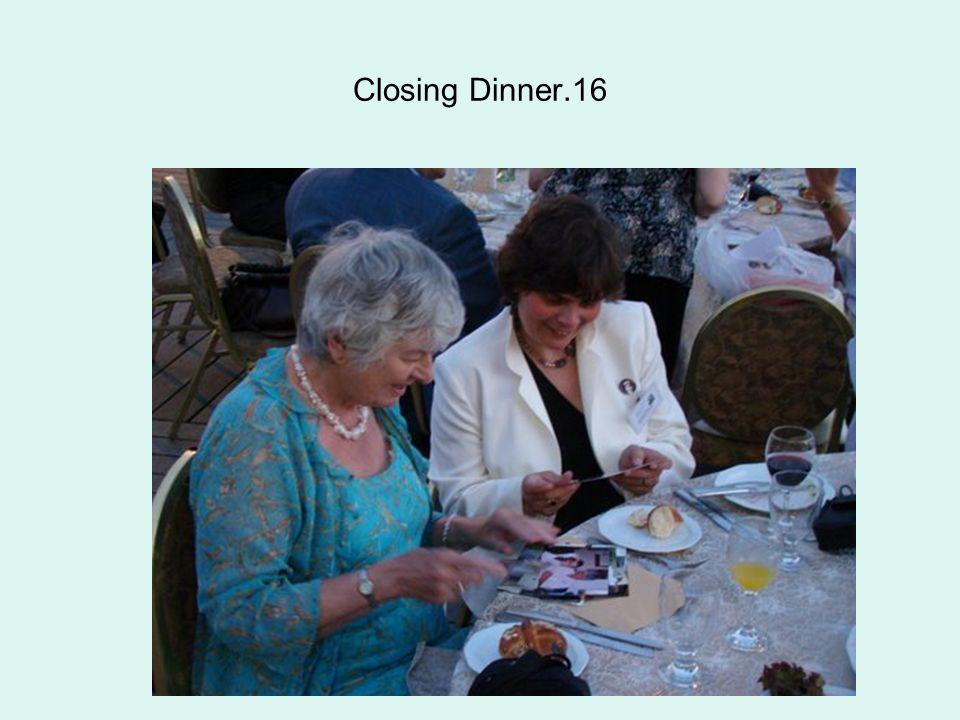 Closing Dinner.16