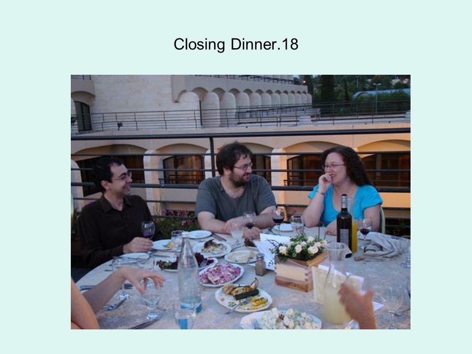 Closing Dinner.18