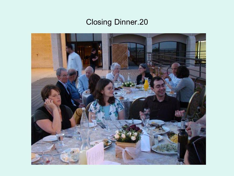 Closing Dinner.20