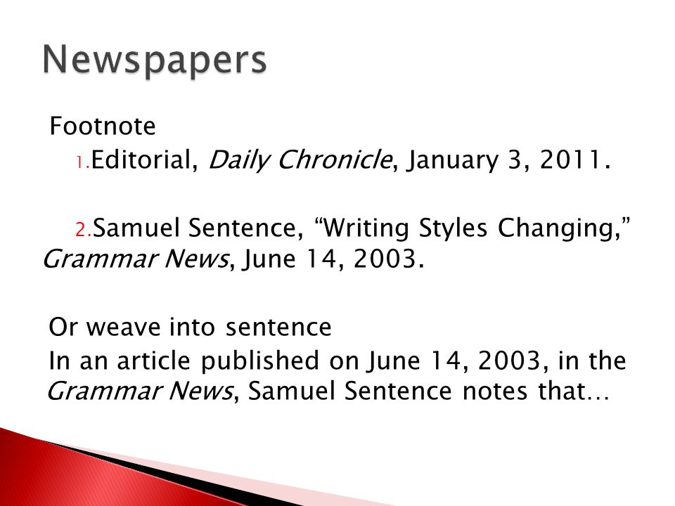 Footnote 1.Editorial, Daily Chronicle, January 3, 2011.