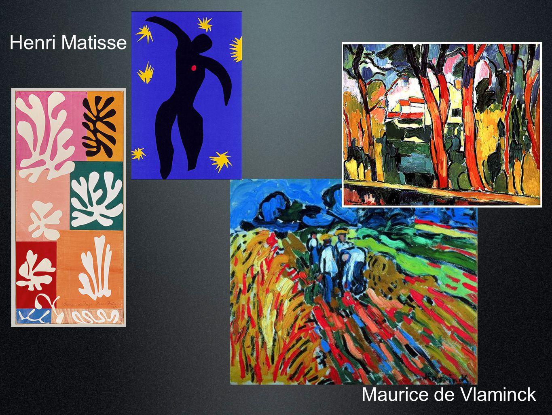 Henri Matisse Maurice de Vlaminck