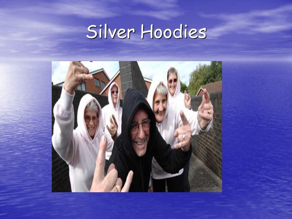 Silver Hoodies