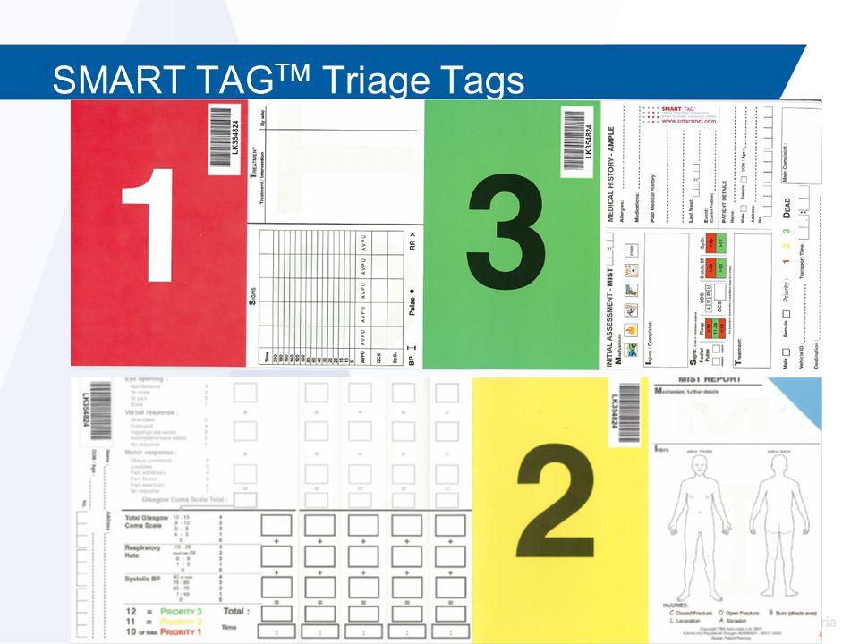SMART TAG TM Triage Tags