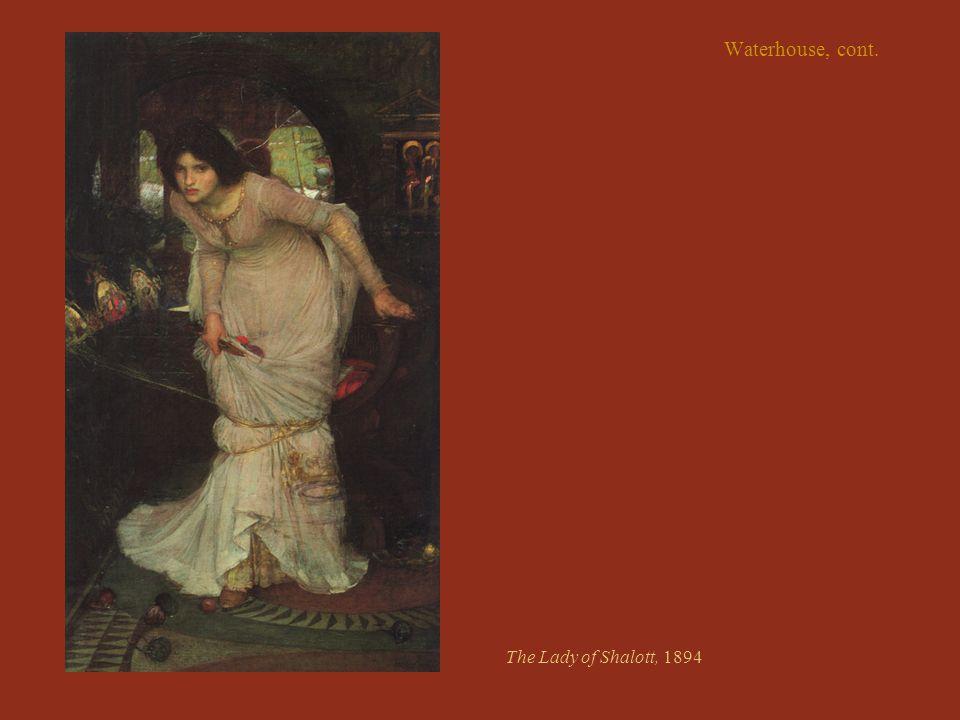 The Lady of Shalott, 1894
