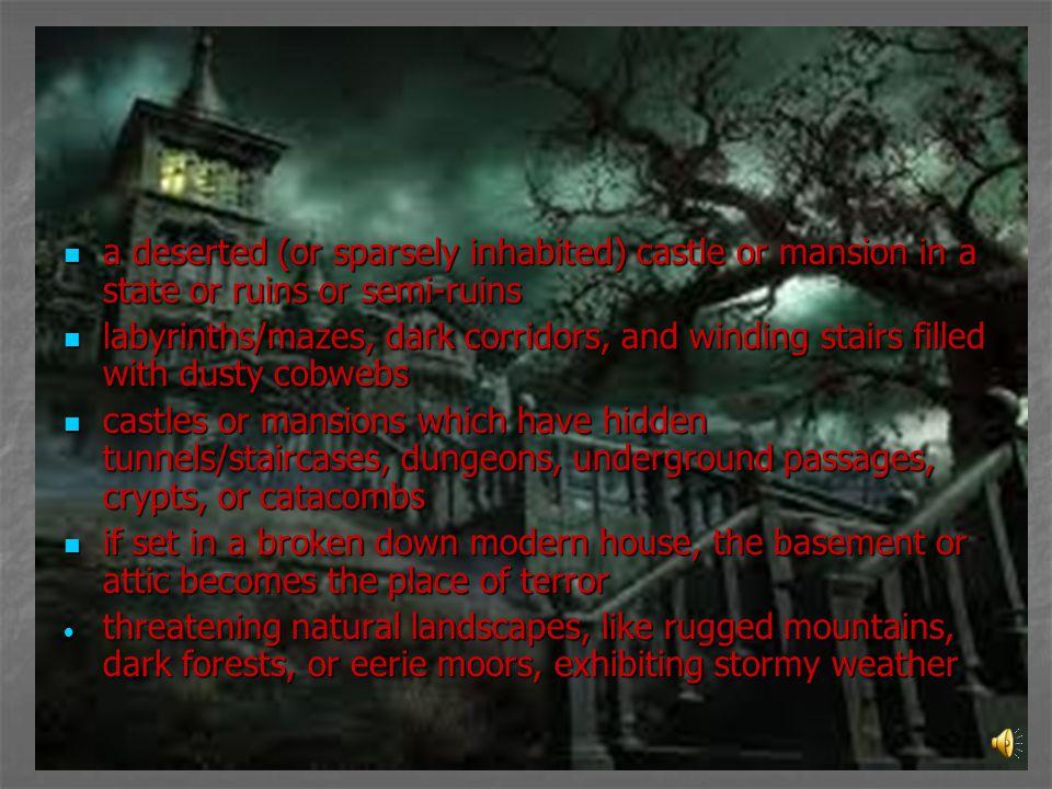 Elements of Horror Setting