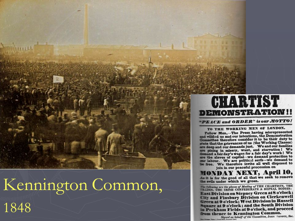 Kennington Common, 1848