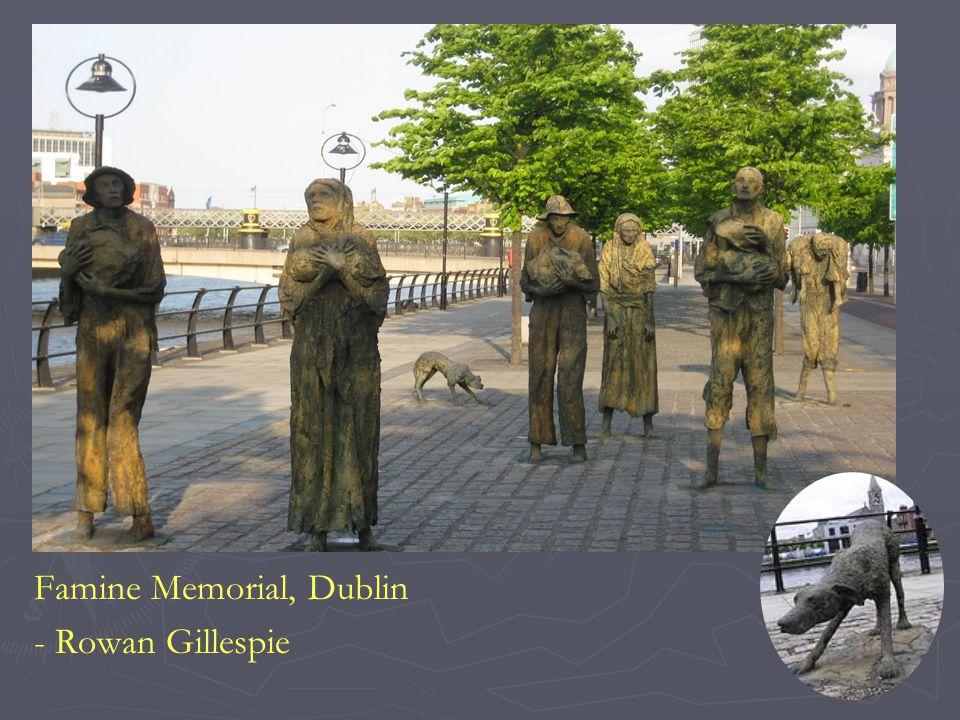 Famine Memorial, Dublin - Rowan Gillespie