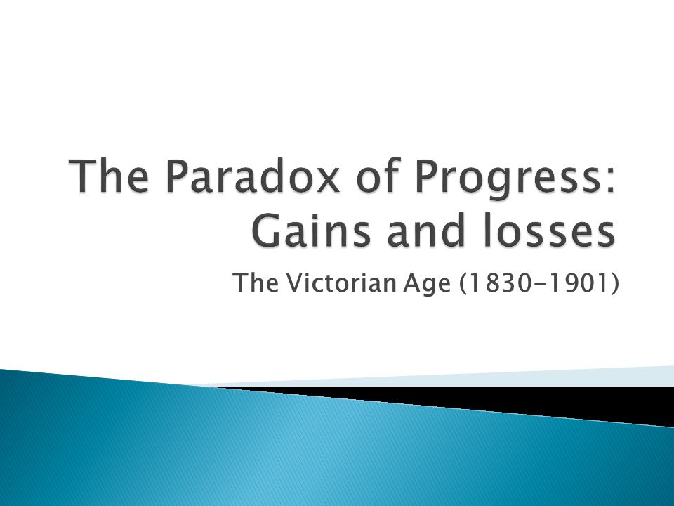 The Victorian Age (1830-1901)