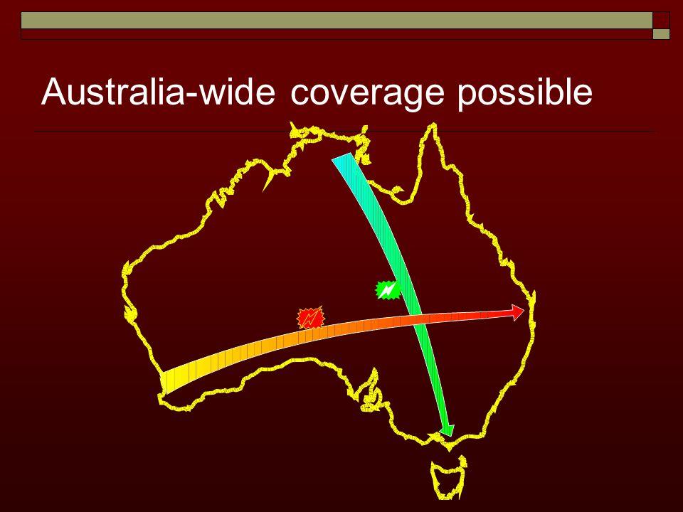Australia-wide coverage possible
