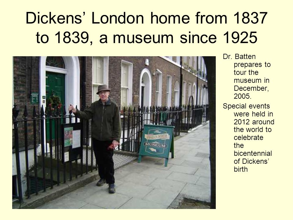 With his first novel, The Pickwick Papers in 1836- 1837, Dickens became a best-selling novelist.