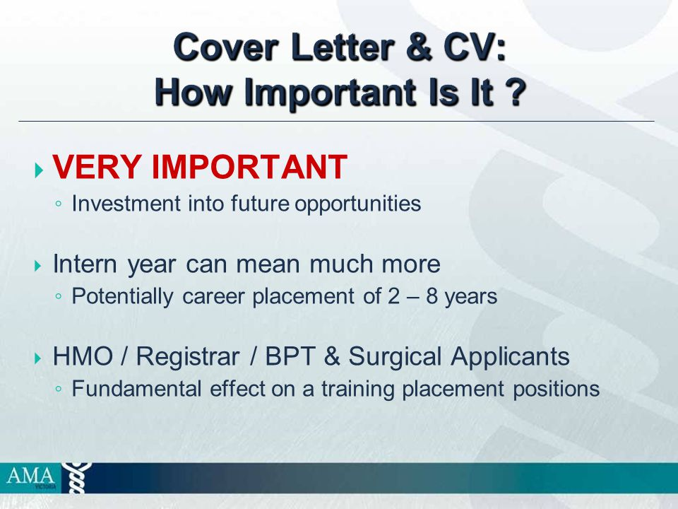 Cover Letter & CV: How Important Is It .
