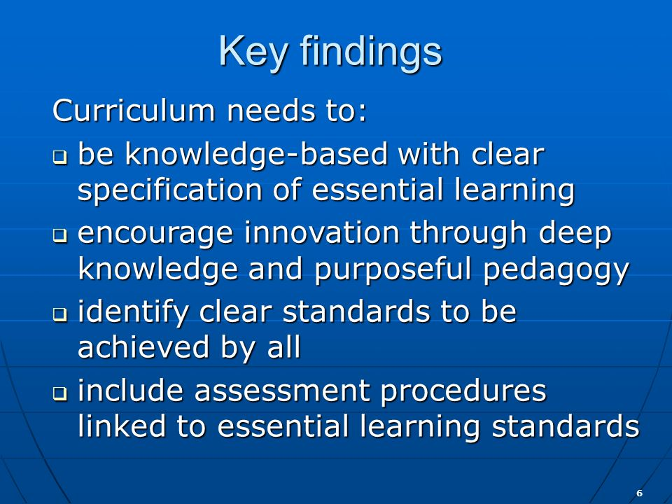 17 Assessment  Measure student achievement against standards  Determine students working at expected level or above or below that level  Describe students' learning and achievements fairly and accurately  Identify strengths and weaknesses to plan for future learning  Allow students to demonstrate deep understanding and achievement of generic skills
