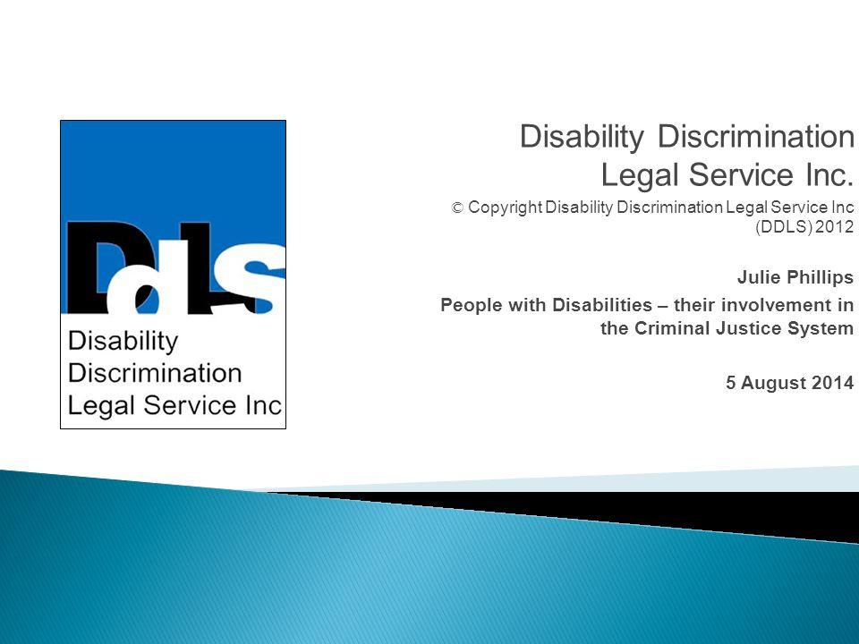 Disability Discrimination Legal Service Inc.