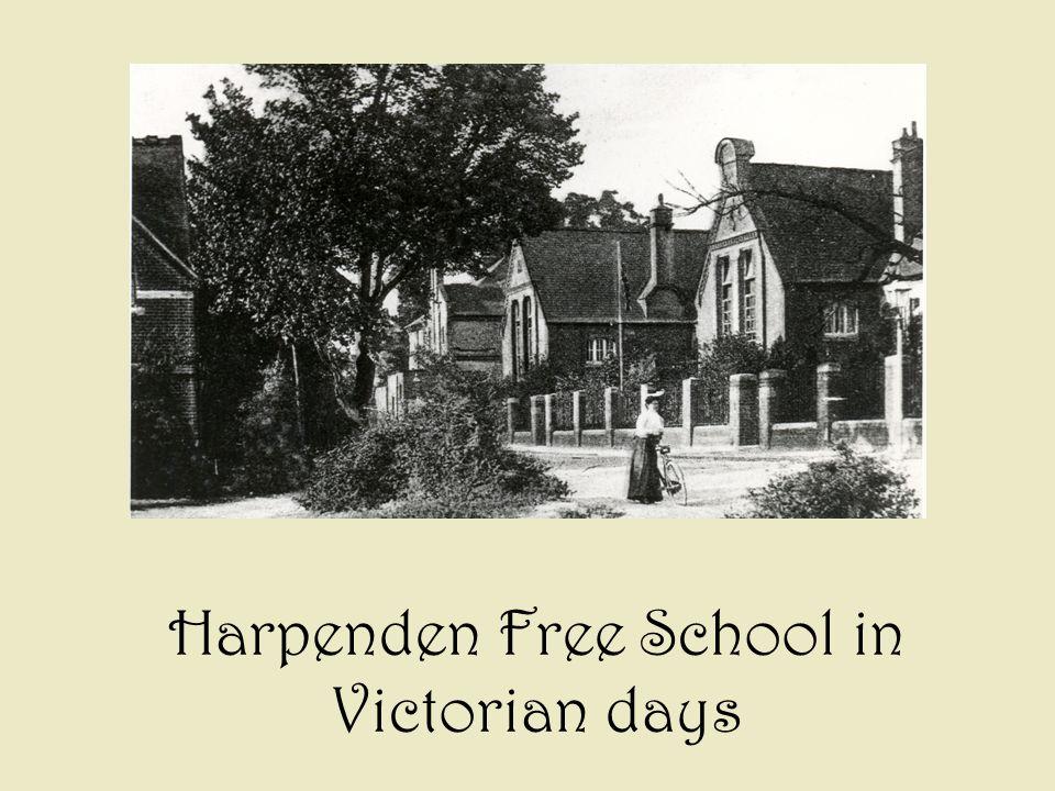 Harpenden Free School in Victorian days