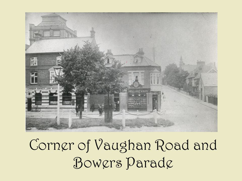 Corner of Vaughan Road and Bowers Parade