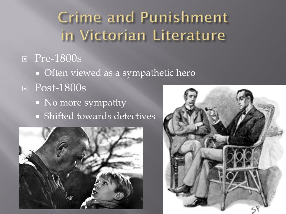  Pre-1800s  Often viewed as a sympathetic hero  Post-1800s  No more sympathy  Shifted towards detectives