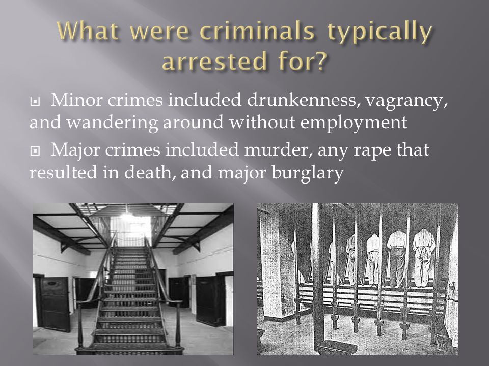  In the court systems, judges and prosecutors had much more power  Criminals were treated very poorly in prison, as they were considered the lowest social class  The silent system was later induced in the prisons, along with hard labor