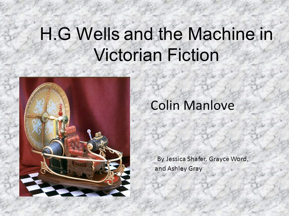 Colin Manlove  Born in 1942  Literary critic with a great interest in Fantasy  He was interested in works by Charles Kingsley, George MacDonald, C.S.