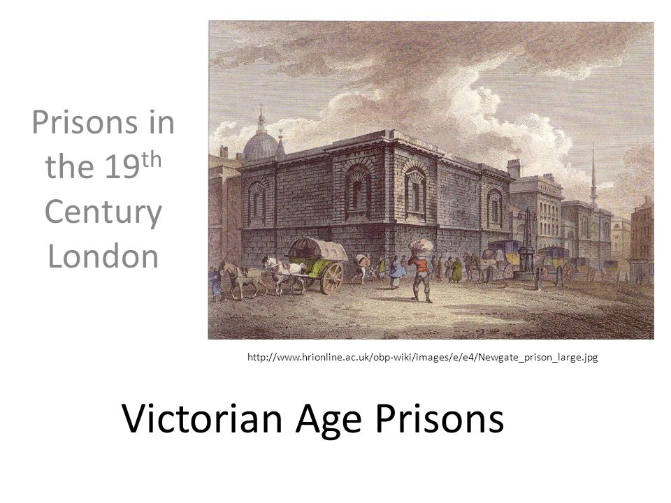 Why Victorian Prisons.